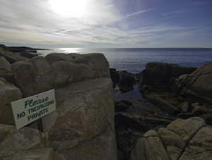 Lost Access is a problem up and down Maine's coast.